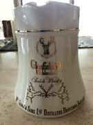 Glenfiddich Scotch Whiskey Ceramic Pitcher, Advertising Collectible, Hcw Pottery