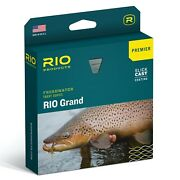 Rio Grand Premier Fly Line Green/yellow - All Sizes - Free Fast Shipping
