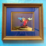Disney Mickey Mouse Hand Drawn Cel Picture Image Fantasma Limited Genuine F/s