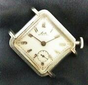 Antique Yoshida Watch Store Locle Special M Stainless Watch F/s From Japan