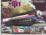 Mth Electric Trains 2002 Volume 1 Premier Railing And Tinplate Traditions