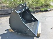 New 36 Backhoe Bucket For A John Deere 310d With Coupler Pins - No Teeth