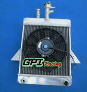 Aluminum Radiator And Fan For Triumph Gt6 1966-1973 1967 1968 1969 1970 1971 72
