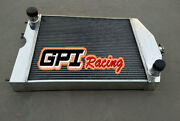 56mm For Ford 2n/8n/9n Tractor With Ford 305 V8 Engine Aluminum Radiator