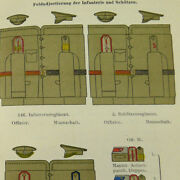German Internal Russian Army Survey Book, 1912 Russia Austro-hungarian Officers