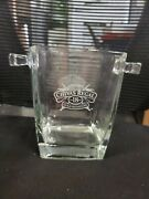 Chivas Regal 18 Year Old Whiskey Gold Signature Champagne Glass Ice Bucket-euc