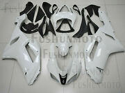 Injection Mold Fairing Bodykit Fit For Kawasaki 2007-2008 Zx6r Zx-6r White A33