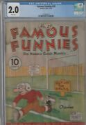Famous Funnies 39 Cgc 2.0 1937