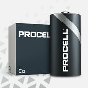 Case 24 New Duracell Procell Size C Alkaline Batteries Exp 2024