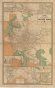 [map Of Steamship Routes And The Railways And Post Roads Of The Russian Empire]