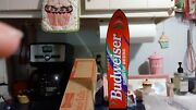 Budweiser Ski Tip Beer Tap Handle Brand New In Box 14 Inch Awesome Rare Find