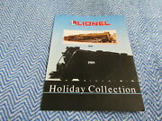 1989 Lionel Holiday Collection Original Sales Brochure Flyer Packet