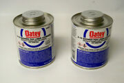 Oatey 30812 Shower Pan Liner Adhesive X-15 Pvc Solvent 16 Oz Qty 2