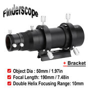50mm Telescope Guide Scope For Astronomical Telescope Finder Target Accessory Sh