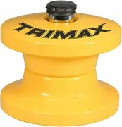 Trimax Lunette Tow Ring Lock, Secure Pintle Hitch, Tlr51 - Color Yellow