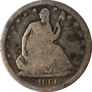 1866-s Seated Half Dollar Great Deals From The Executive Coin Company