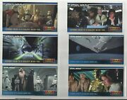 1994 Star Wars Widevision Complete Set Of 8 Promo Cards Swp1-swp6 Htc