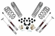 Rough Country 3.75 Dual Lift Kit Fits 1997-2006 Jeep Wrangler Tj | 6cyl | N3