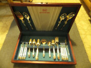 Vtg 1847 Rogers Bros Silverplate Flatware 56 Pieces - Service For 8 - Unused