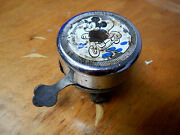 Mickey Mouse Antique Vintage Bicycle Bike Bell And039made In Germanyand039