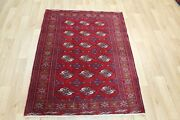 Old Handmade Persian Tribal Rug 140 X 105 Cm Hand Knotted Wool Rug