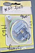 1965 Mustang Fastback / Shelby Fog Lamp Switch And Bezel Kit Nos