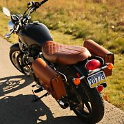 Triumph Seatreal Leather T100thruxtonscrambler Years 2001-2015 Base And Seat