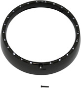 Cdtb-7tr-4b 7 Led Halo Headlight Trim Rings With Built-in Turn Signals