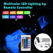 Addmotor Led Light Strips Car Atmosphere Interior Kits Remote Music Control Rgb