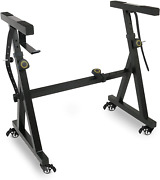 Plixio Piano Keyboard Stand W/wheels - Z Style Adjustable And Portable