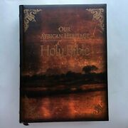 Our African Heritage Family Holy Bible Kjv King James Version Red Letter Edition