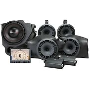 Mb Quart Tuned Audio Package Stage 5 800w Polaris Rzr Ride Command Source 14-20