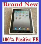 Brand New Sealed Apple Ipad 1st Gen 32gb Wi-fi + 3g Atandt 9.7in Black Collectible