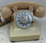 Western Electric Ivory Model 302 Telephone Fully Restored Circa 1930and039s
