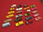 Diecast Cars And Trucks Lot Of 73 Used