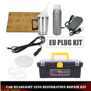 Car Truck Headlight Lens Clear System Heating Atomized Cup Repair Restore W/ Box
