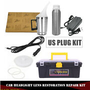 Car Truck Headlight Len Clear System Heating Atomized Cup Repair Restore Us Plug