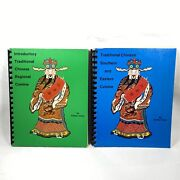 Signed Vintage 1976-77 Esther Chen Traditional Chinese Cuisine Cookbooks Seattle