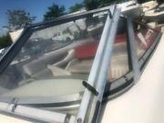 1998 Chaparral 200 Le Front Left Side Curved Windshield Glass W/ Door