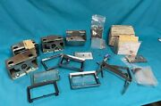 1957 Chevy 150-210-belair Original Clocks And Parts - Don't Work - Used - Lot