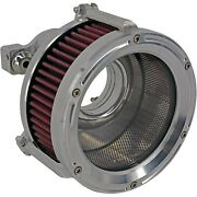 Trask Tm-1022-r Assault Charge High-flow Air Cleaner Raw Harley Sportster 91-20
