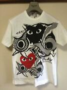 Play Comme Des Garcons Taro Okamoto Holiday Explosion T-shirt White Size S Dhl