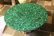 36 Marble Table Top Malachite Stone Coffee Table Home Decor Kitchen Table