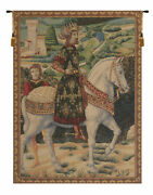 Melchior French Vintage Woven Home Decor Art Fine Wall Hanging Tapestry
