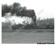 Norfolk And Western Railway Nandw 2158 With Caboose Bandw Photo L0399
