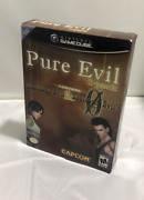 New Sealed - Resident Evil Pure Evil 2 Pack Limited Edition Gamecube Rare Gc