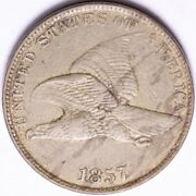 1857 Flying Eagle Cent Penny Choice Xf+ Free Shipping E502 Ant