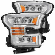 Nova Projector Headlights W/ Sequential Signal Black For 17-20 Ford F150 Raptor