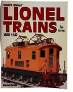 A0410 Standard Catalog Of Lionel Trains 1900-1942 2nd Edition By Doyle David