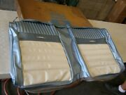 Nos Oem Ford 1965 1966 Mustang Convertible Pony Seat Back Interior Upholstry